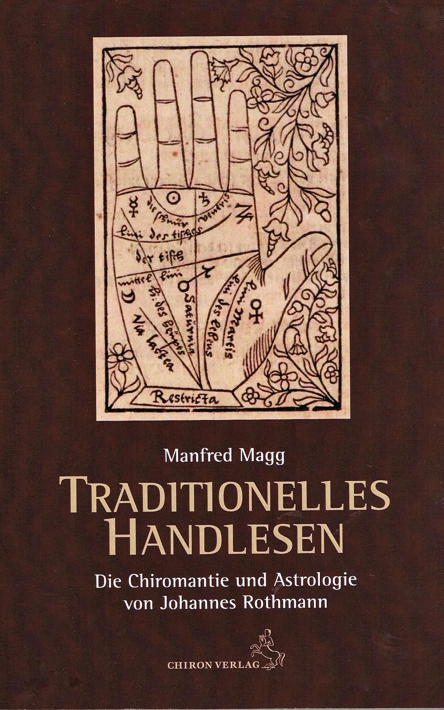 Buch Traditionelles Handlesen